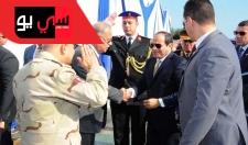 الرئيس السيسي يفتتح عدد من المشروعات القومية